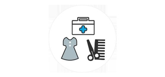 事務・医療・ファッション・美容等女性の多い領域にフィットした商品